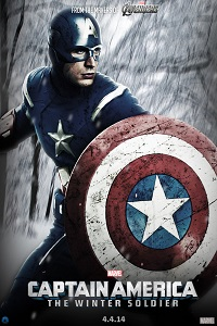 Poster Captain America 2 large