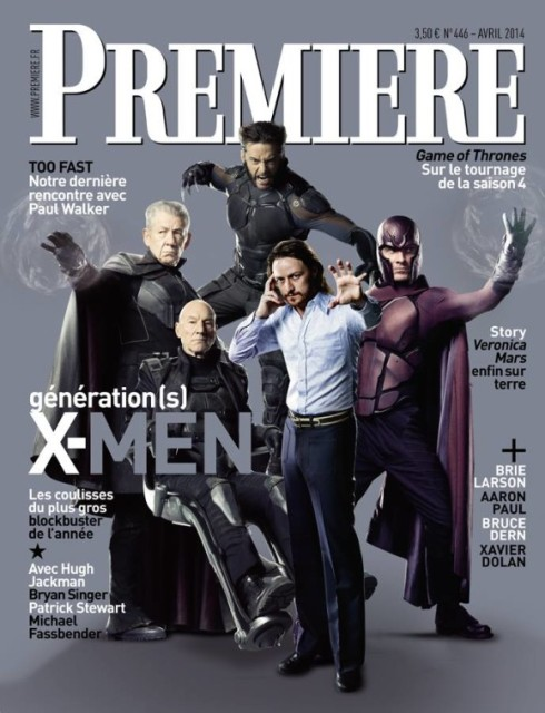 Watch out behind you James McAvoy!!!